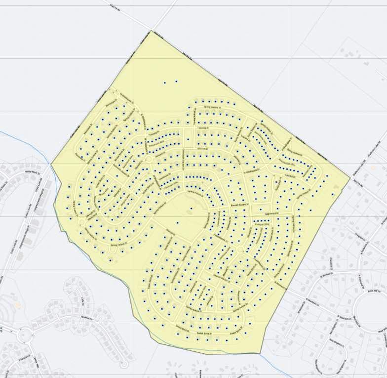 Parkside Map
