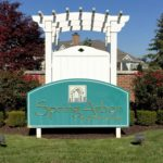 Spring Arbor Entry Sign