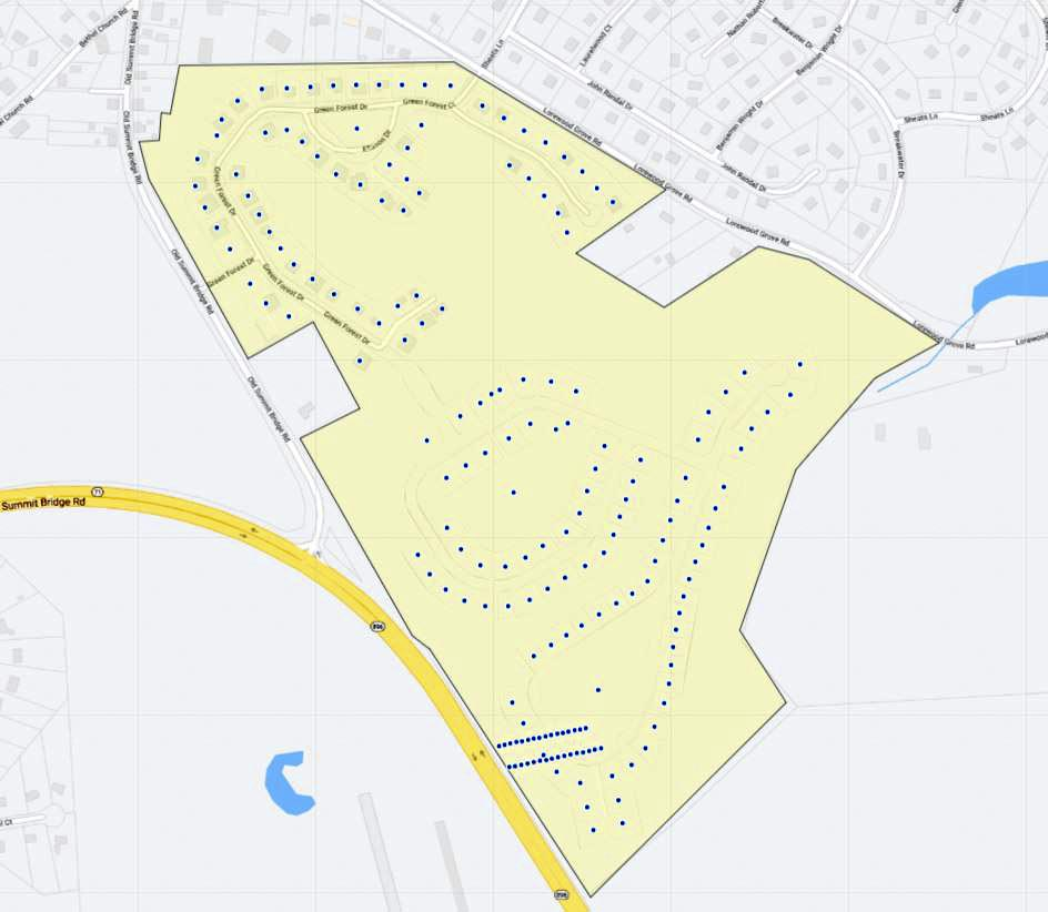 Rothwell Estates Map
