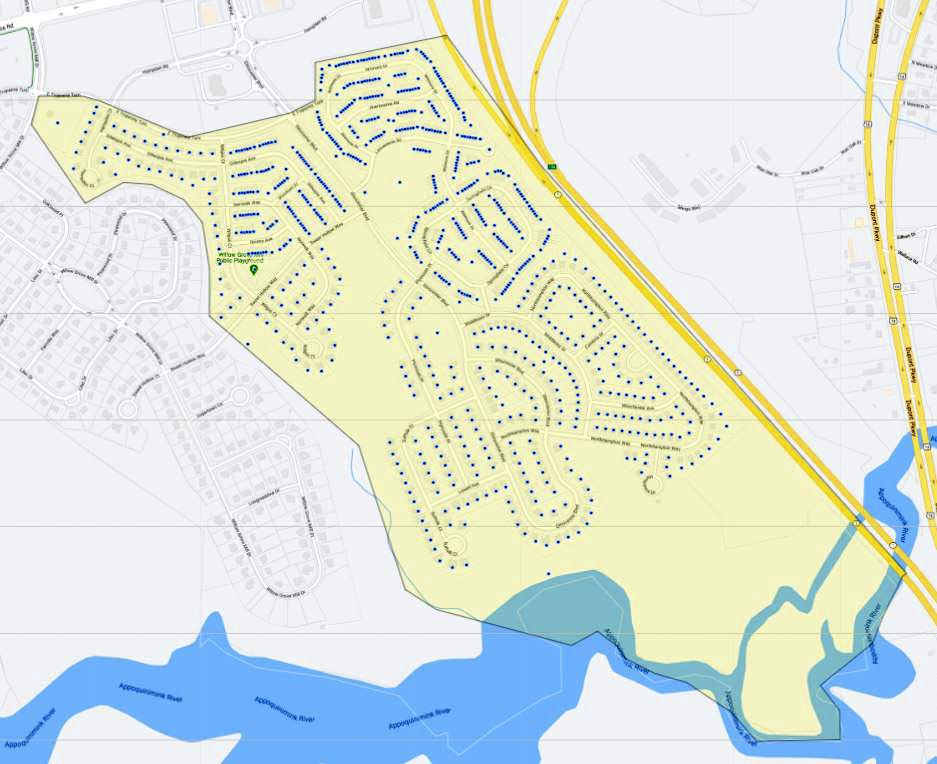 Willow Grove Mill Map