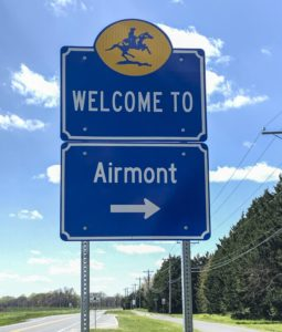 Airmont Entry Sign
