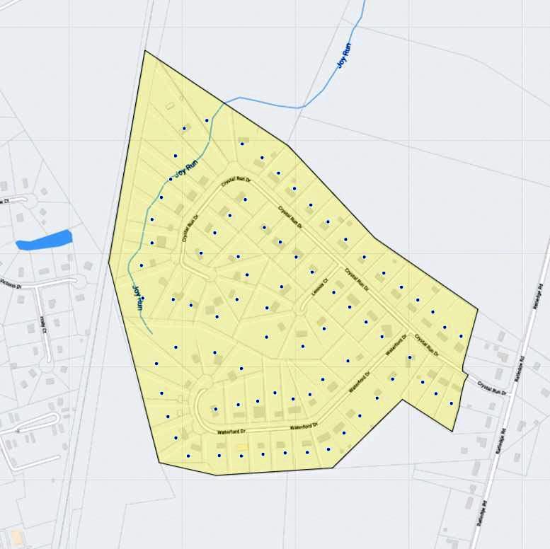 Crystal Run Farms Map
