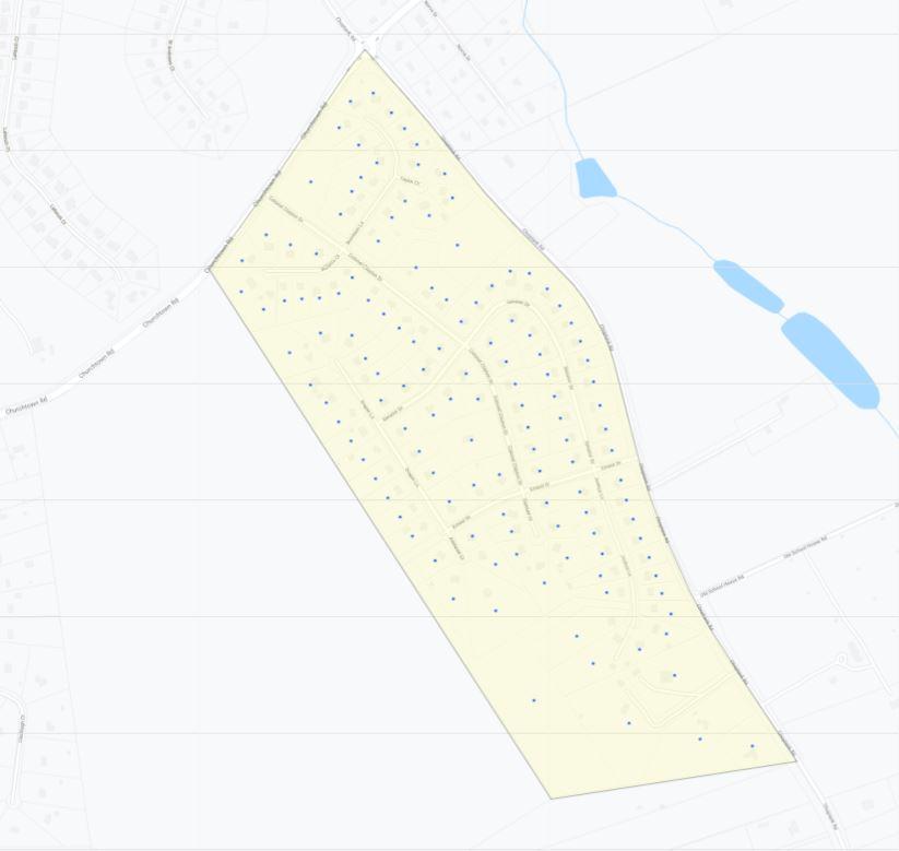 Fox Hunter Crossing Map