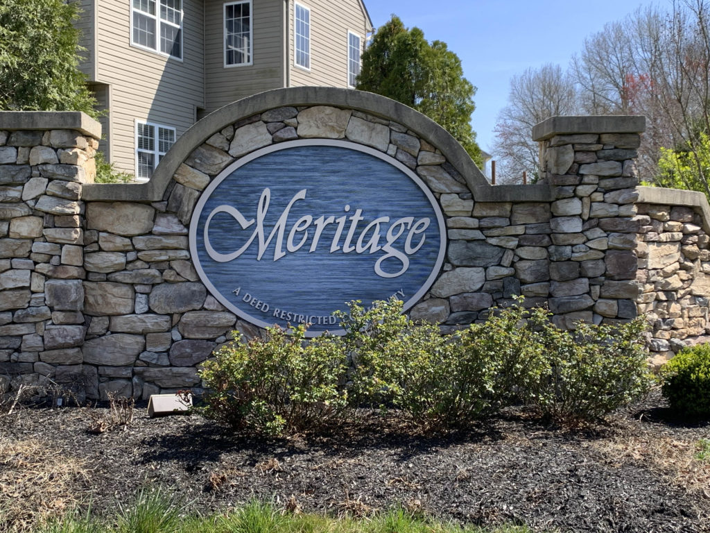 Meritage Entry Sign