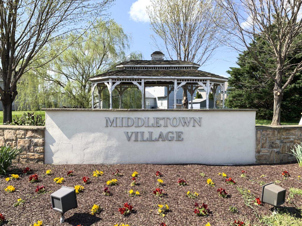 Middletown Village Entry Sign
