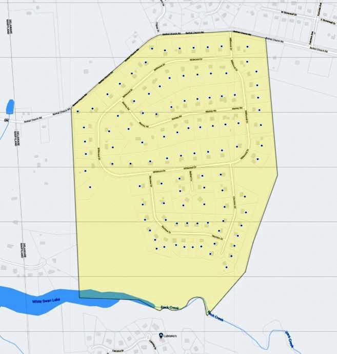 Millwood Map