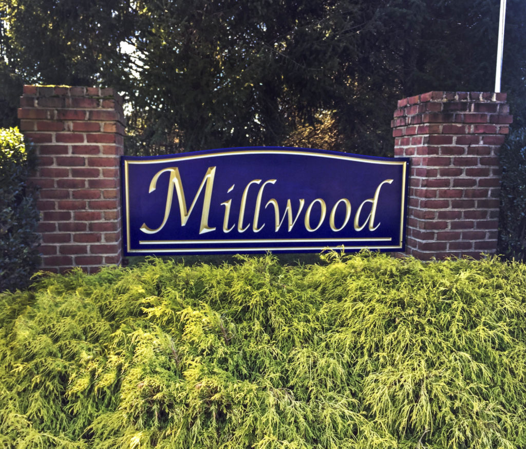 Millwood Entry Sign