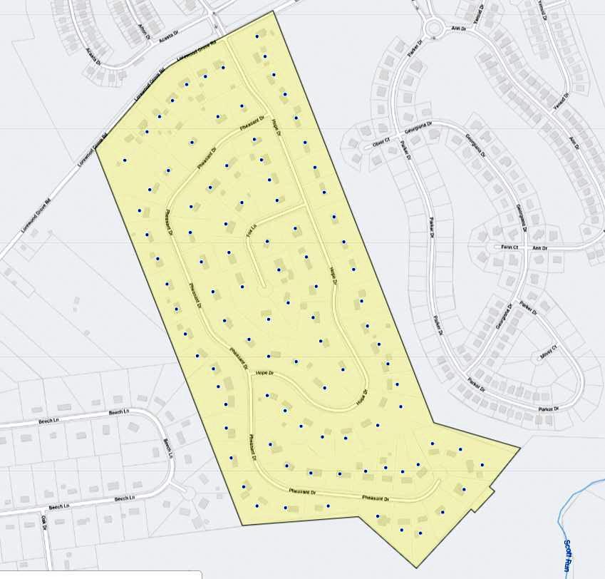 Mount Hope Map