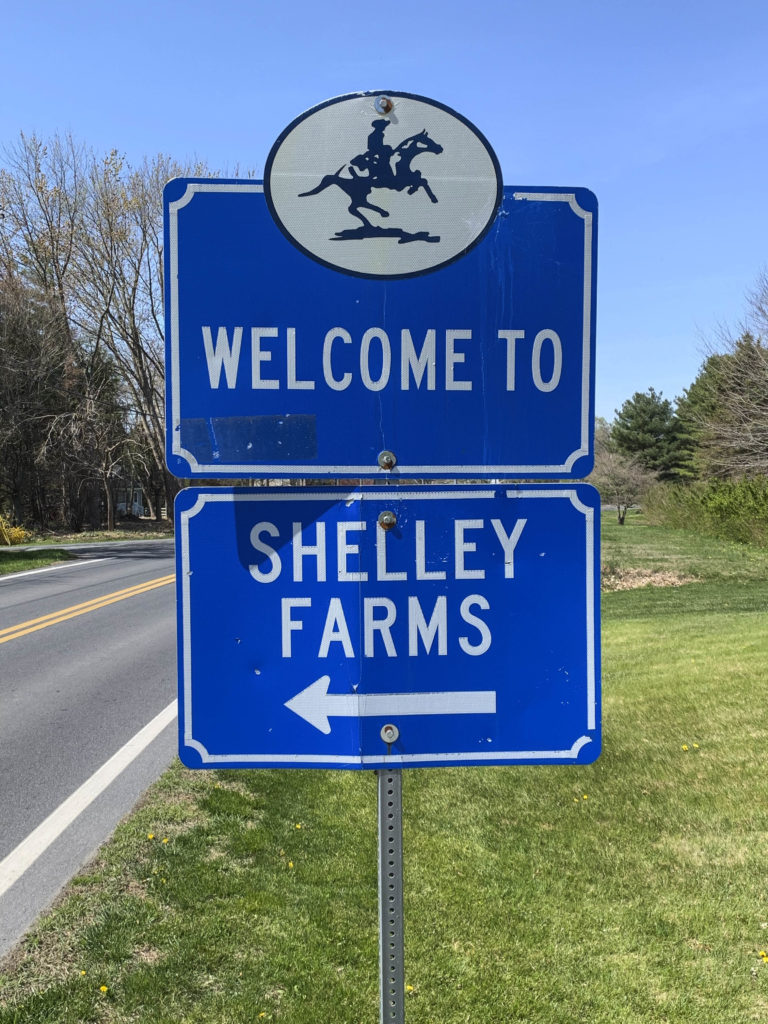 Shelley Farms Entry Sign