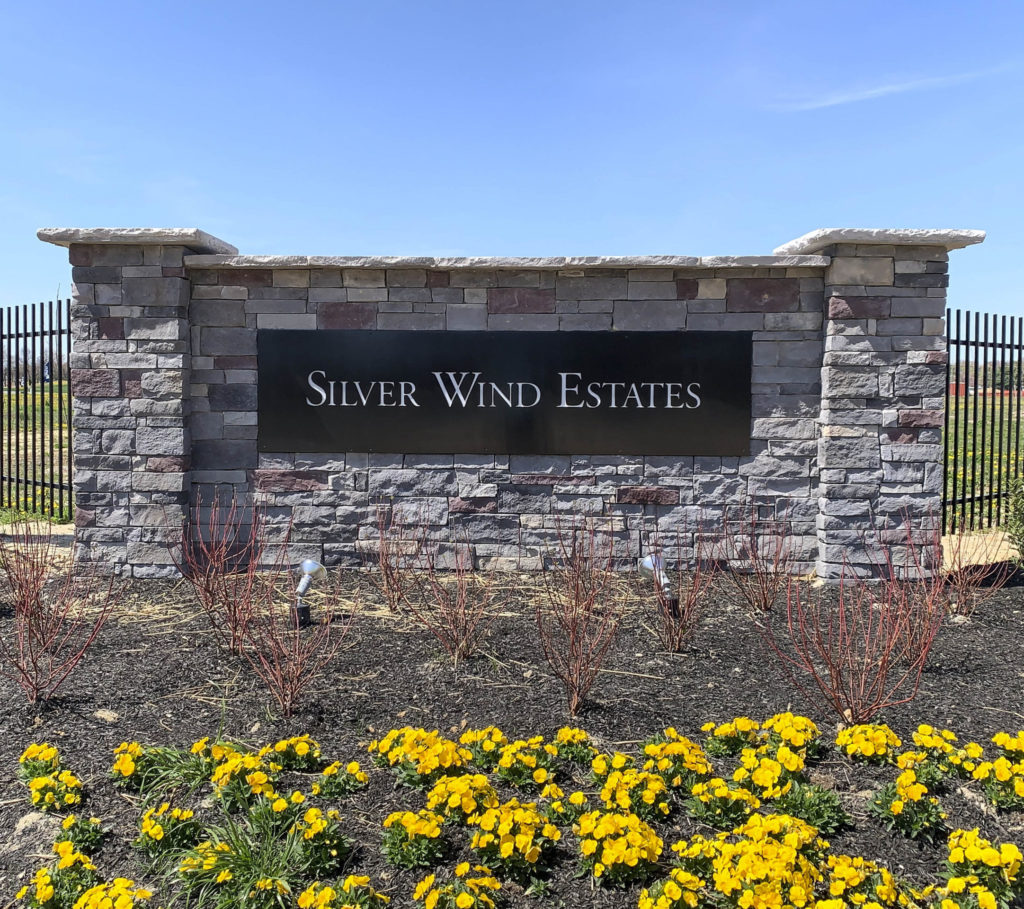 Silver Wind Estates Entry Sign