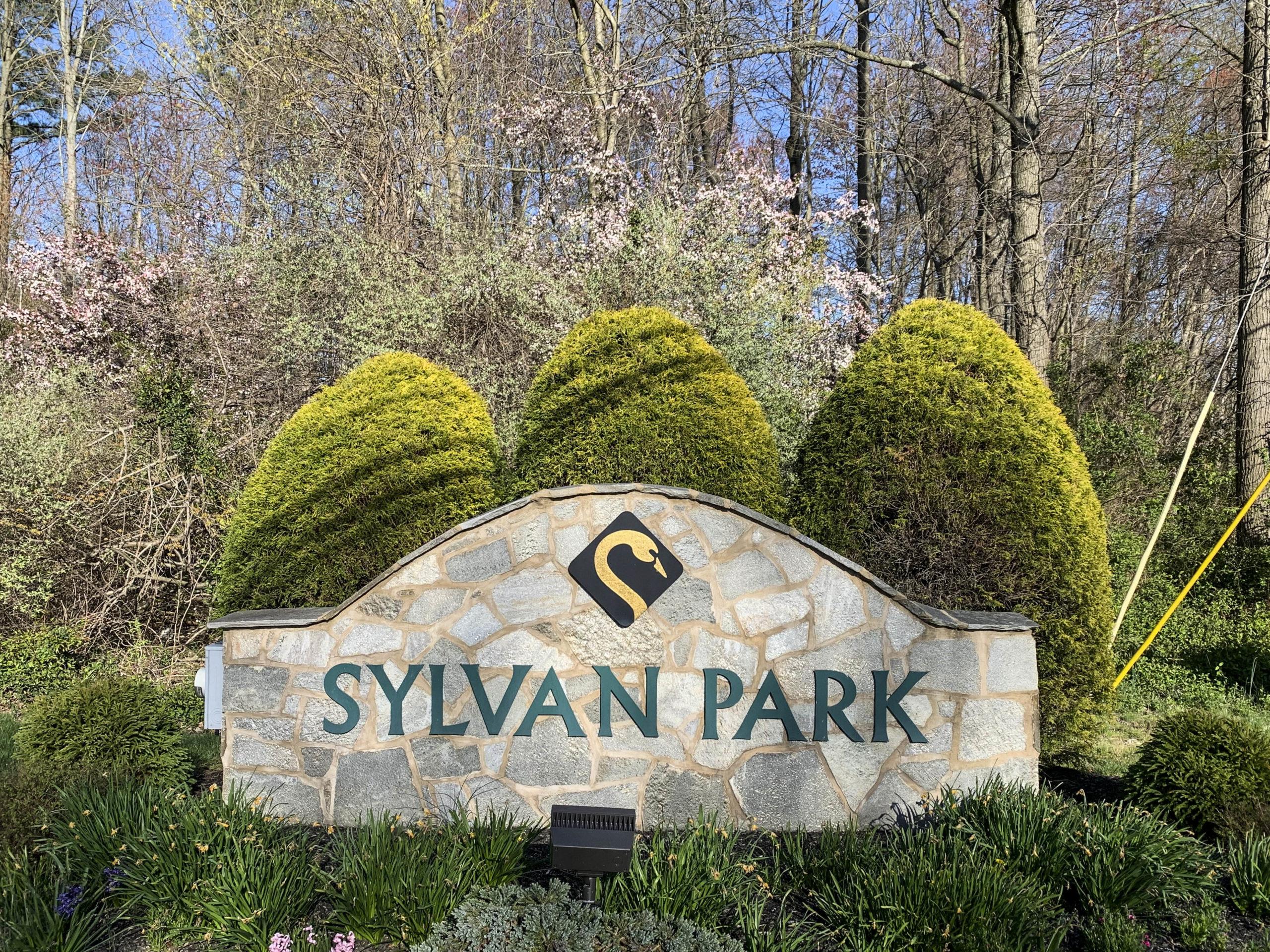Sylvan Park Entry Sign