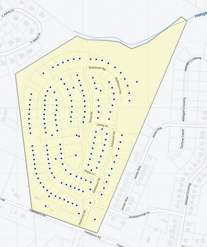 The Preserve at Robinson Farms - Villas Map
