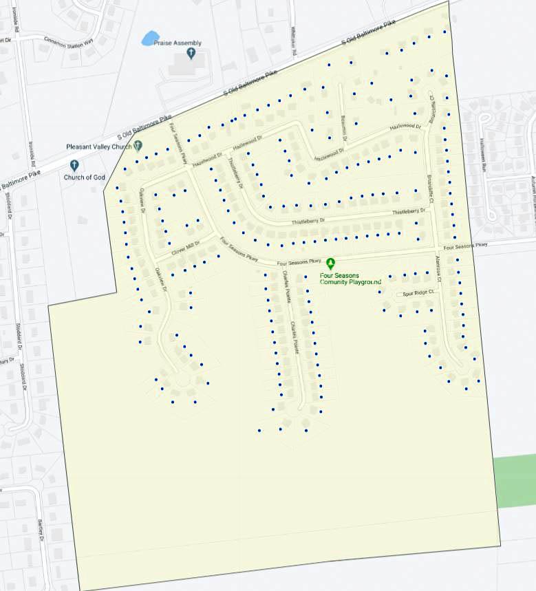 Thornwood Map