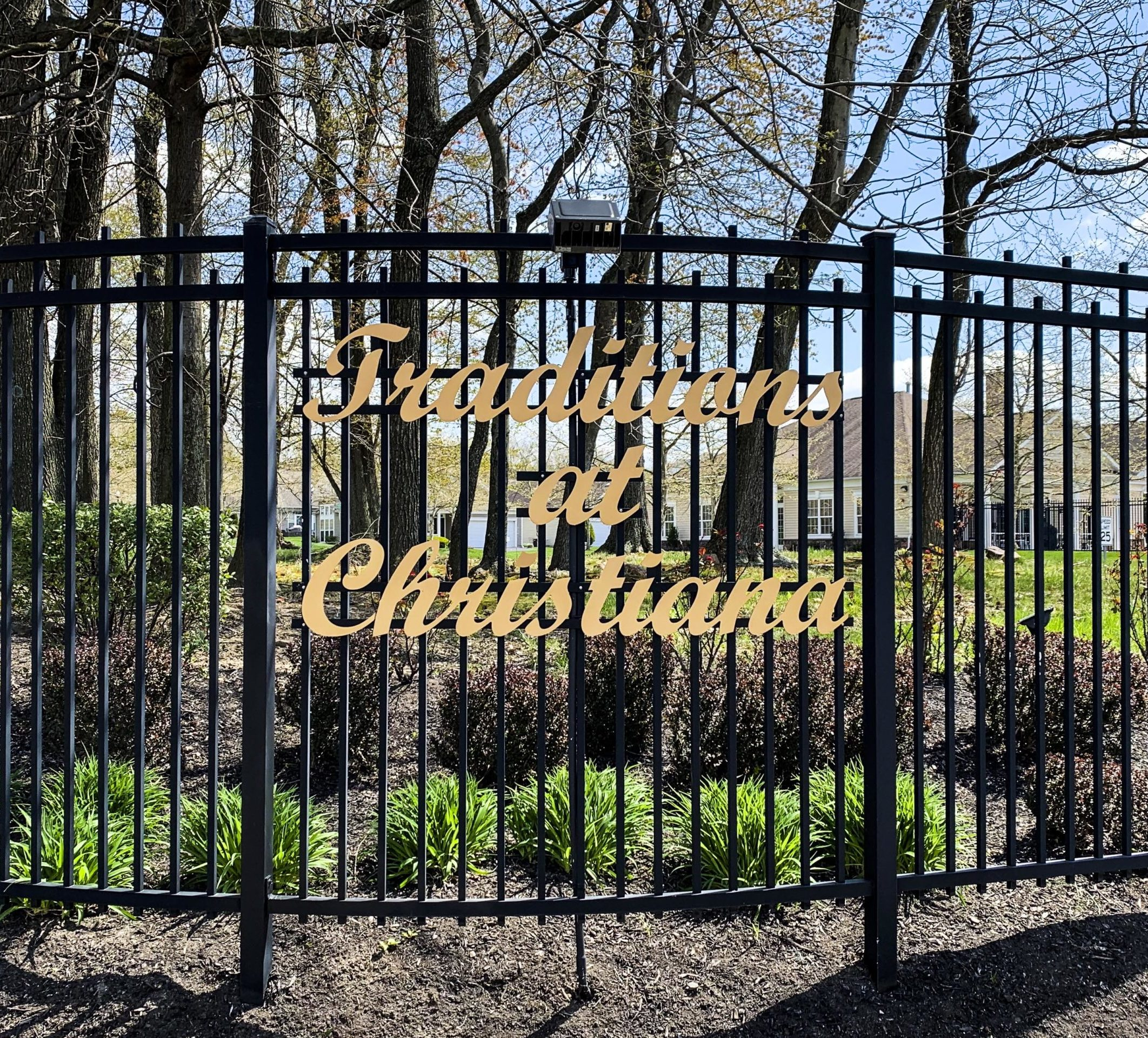 Traditions at Christiana Entry Sign