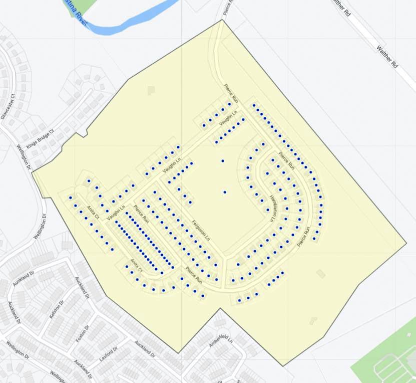Village of Fox Meadow Map
