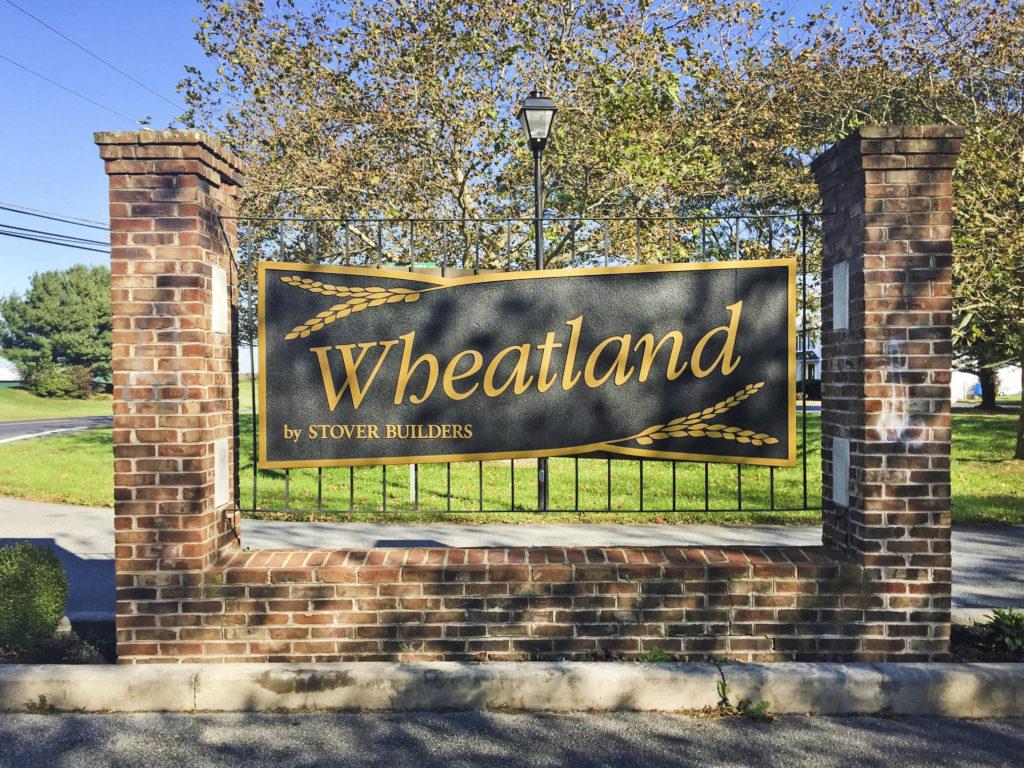 Wheatland Entry Sign
