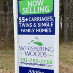 Whispering Woods Entry Sign