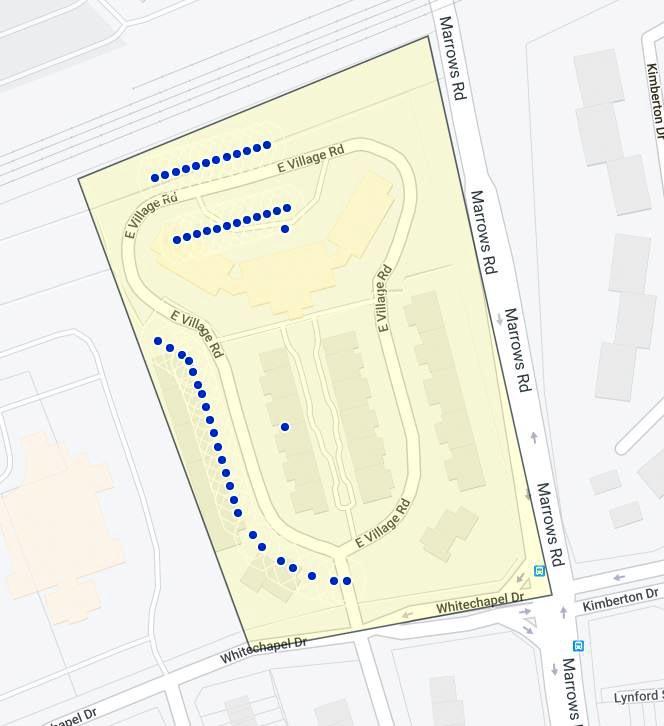 White Chapel Village Map