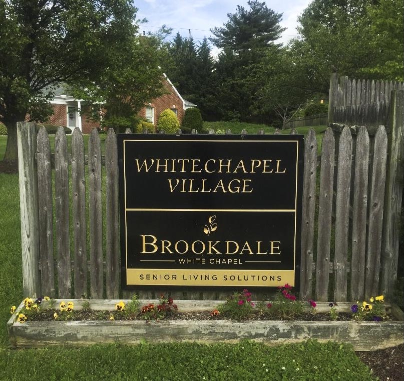 White Chapel Village Entry Sign